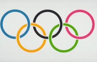 The Official Logo of the Olympic Games for editorial use only.