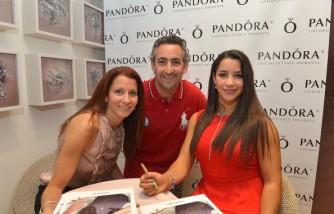 Aly Raisman Celebrates Mother's Day With PANDORA