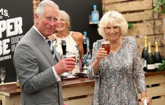 The Prince Of Wales & Duchess Of Cornwall Visit Sandingham Flower Show