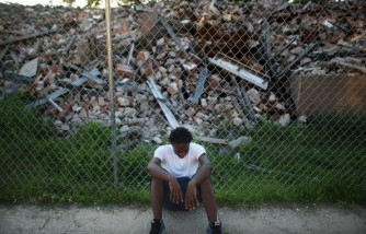 Demolition Continues On New Orleans Housing Projects