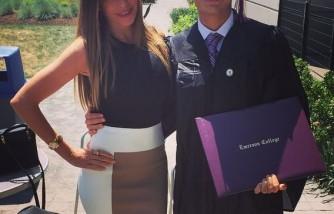 Sofia Vergara with her son Manolo