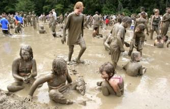 Mud Day Celebration Held In Michigan