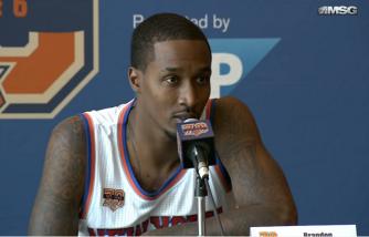 Brandon Jennings: 'Whatever the Team Needs, I'm Ready'