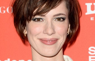 Actress Rebecca Hall attends the 'Christine' Premiere during 2016 Sundance Film Festival