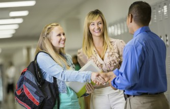 Work closely with the school counselor