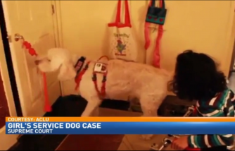 Young girl takes fight over service dog to U.S. Supreme Court
