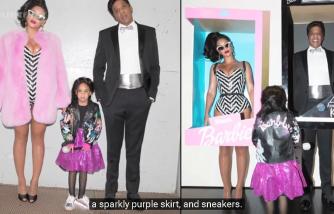 Beyonce & Her Barbie Family  Halloween 2016   Lehren Hollywood