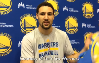 Klay Thomson of Golden  State Warriors