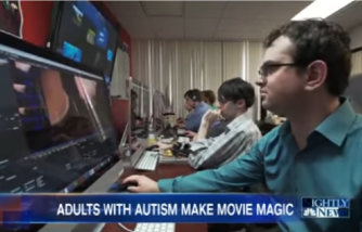 This School Is Helping Young Adults With Autism Make Movie Magic   NBC Nightly News