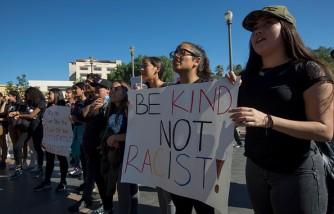 Los Angeles Area Students Organize Large Anti-Trump Protest