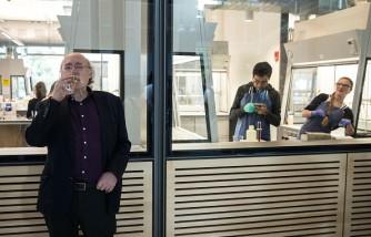Physics Nobel Prize Winner F. Duncan Haldane Addresses Media