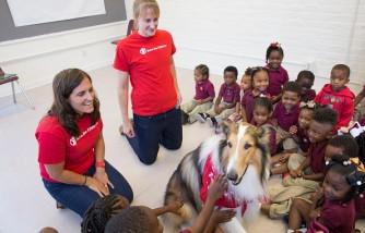 Lassie Joins Save the Children 'Prep Rally' Before Katrina Anniversary