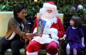 Michelle Obama Visits Childrens National Medical Center