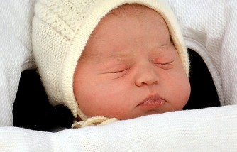 The Duke And Duchess Of Cambridge Daughter, sleeping