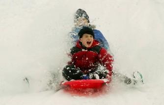 Snow Hits Northeast