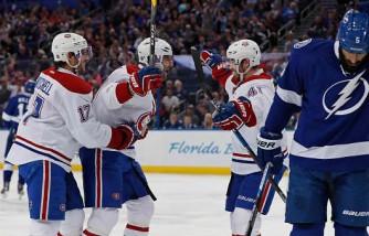 Montreal Canadiens v Tampa Bay Lightning