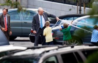 Karl Rove's Car Shrink-Wrapped In Prank