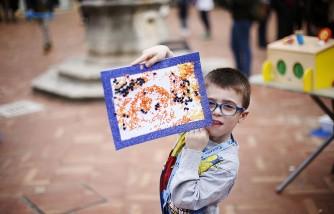 World Landmarks Light It Up Blue for World Autism Awareness Day 2016