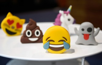 Young Children Express Their Answers In A Survey Through Emoticons