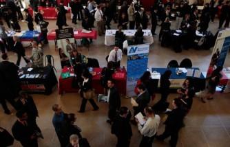 Career Fair Held On Rutgers University Campus