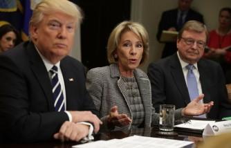 Donald Trump Attends Parent-Teacher Conference Listening Session