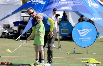 Els For Autism Golf Clinic Increases Interest On Autism