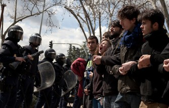 Students Protest Tuition Increase