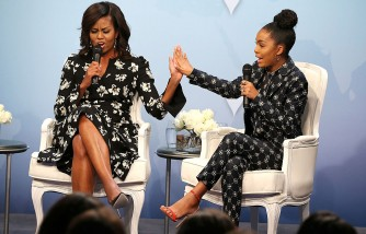 Michelle Obama Wrote Yara Shahidi's College Recommendation