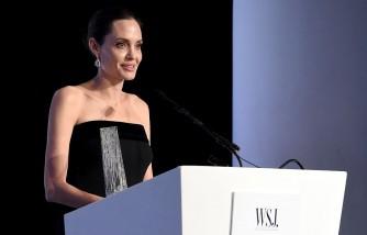 Angelina Jolie As Professor