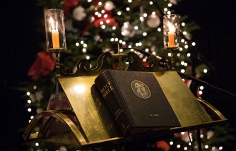 An Anglo-Polish Carol Service Takes Place At St Clement Danes Church
