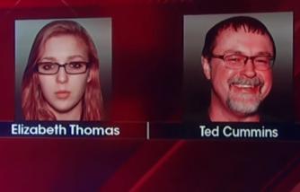 Elizabeth Thomas and Tad Cummins