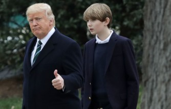 Barron Trump Moving To White House