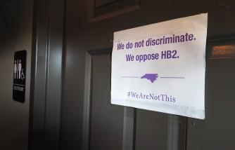 North Carolina transgender bathroom law