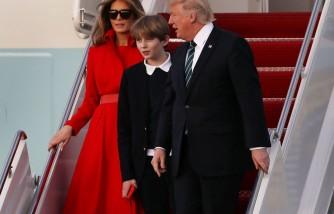 Melania Trump As A Mom To Barron