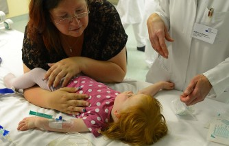 Toddler Swallows Lithium Battery Is Paralyzed