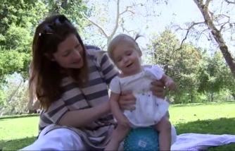 Sister kickstarts fundraising effort for toddler sibling with childhood Alzheimer's