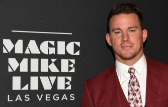 Channing Tatum At 'Magic Mike Live' In Las Vegas