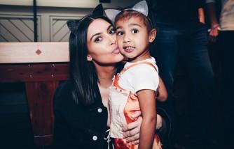Kim Kardashian Faces Backlash After Sharing Photo Of North And Saint Taking A Bath