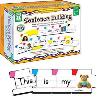Carson Dellosa Sentence Building Literacy Resource with 86 Cards for Language