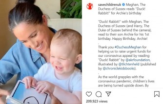 Meghan Markle Celebrates Archie's First Birthday by Reading a Story