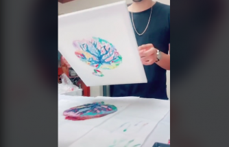 Art From Placenta: Parents Try Creating Placenta Paintings
