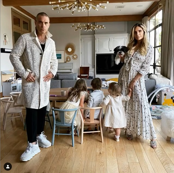 Robbie Williams Children are Curious About His Wild Past