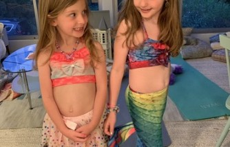 Adorable Mermaid Tail Swimsuits: Not to Be Worn in Water [Could Cause Drowning]
